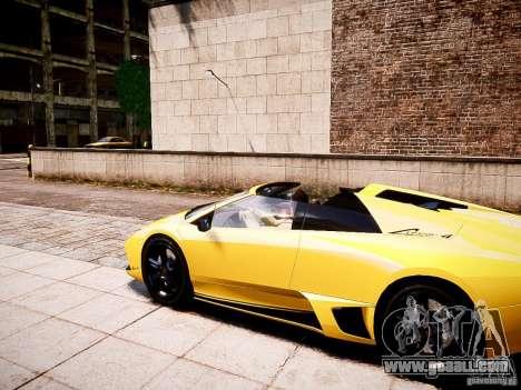 Lamborghini Murcielago LP650-4 Roadster for GTA 4 left view