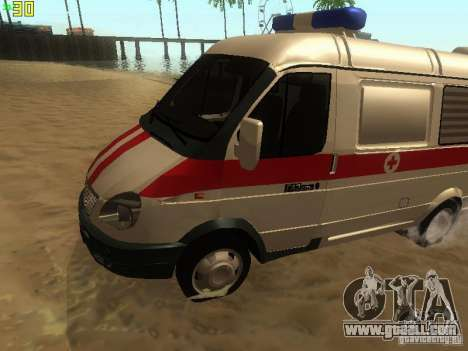 Gazelle 32214 Ambulance for GTA San Andreas left view