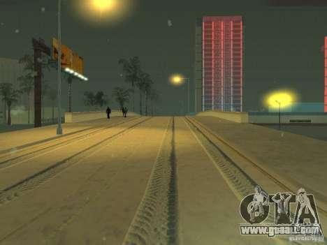 Snow v 2.0 for GTA San Andreas