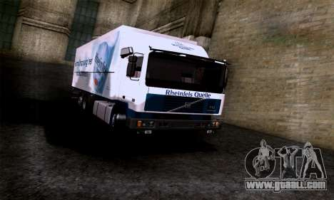 Volvo F10 for GTA San Andreas