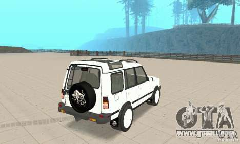 Land Rover Discovery 2 for GTA San Andreas left view