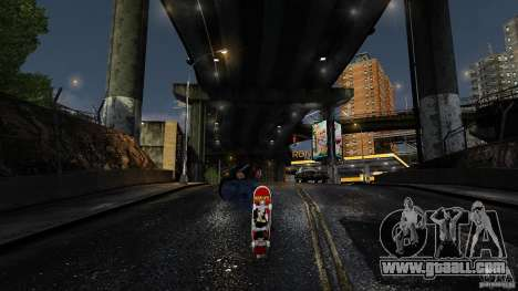Skateboard # 3 for GTA 4