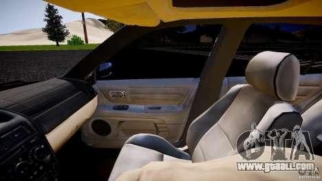 Lexus IS300 for GTA 4 inner view