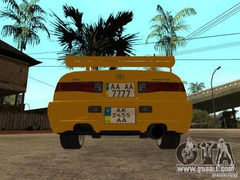 Toyota Camry TAXI for GTA San Andreas back left view