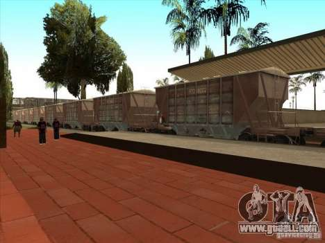 Wagons for GTA San Andreas back view