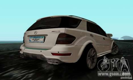 Mercedes Benz ML63 AMG for GTA San Andreas left view