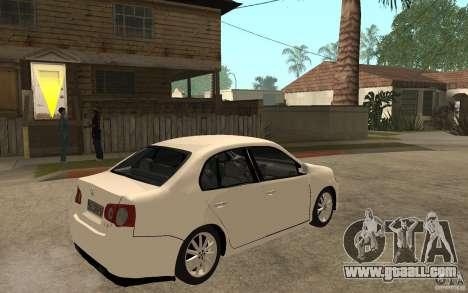 Volkswagen Jetta 2008 for GTA San Andreas right view