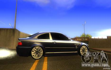 BMW M3 E46 V.I.P for GTA San Andreas left view