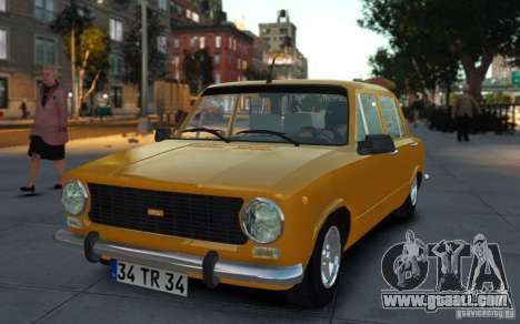 Fiat 124 for GTA 4