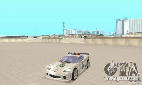 Chevrolet Corvette C6 Police Sergeant Cross NFS for GTA San Andreas