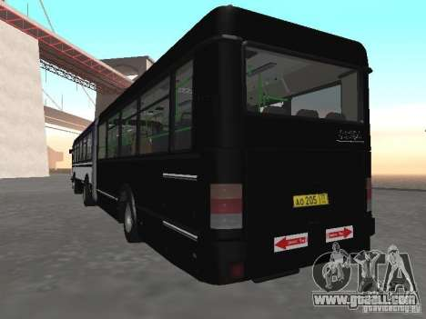 Buses 6222 for GTA San Andreas back view