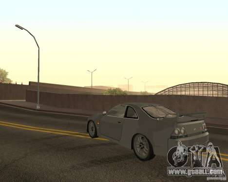 Nissan Skyline GT-R R-33 for GTA San Andreas interior