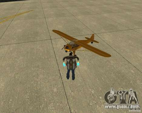 Pak air transport for GTA San Andreas back left view