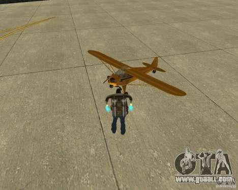 Pak air transport for GTA San Andreas back left view