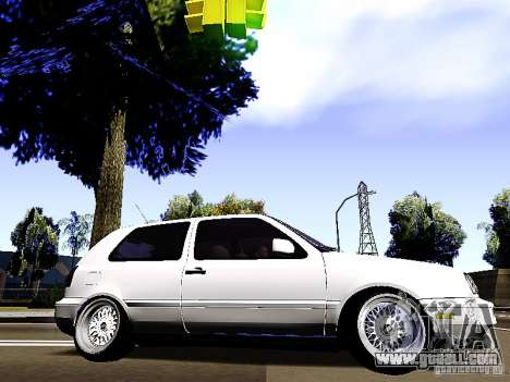 Volkswagen Golf MK3 for GTA San Andreas left view