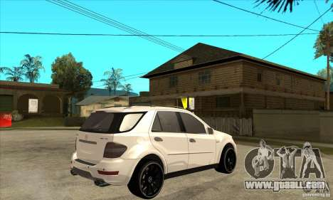Mercedes-Benz ML 63 for GTA San Andreas right view