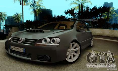 Volkswagen Golf 5 TDI for GTA San Andreas right view