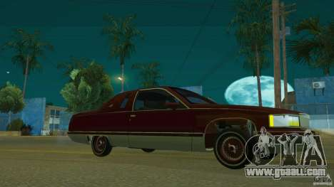 Cadillac Fleetwood 1993 for GTA San Andreas right view