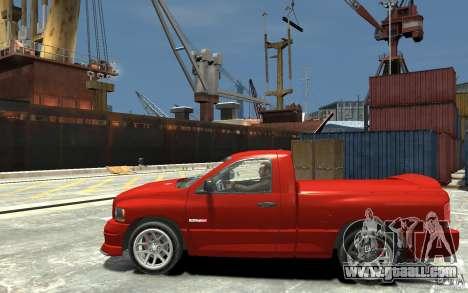 Dodge Ram SRT-10 v.1.0 for GTA 4 left view