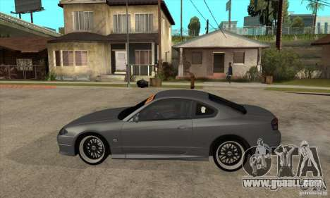 Nissan Silvia S15 JDM for GTA San Andreas left view
