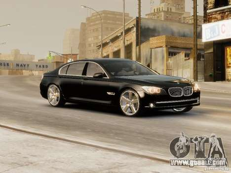 BMW 750 LI 2010 for GTA 4