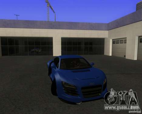 Audi R8 5.2 FSI for GTA San Andreas
