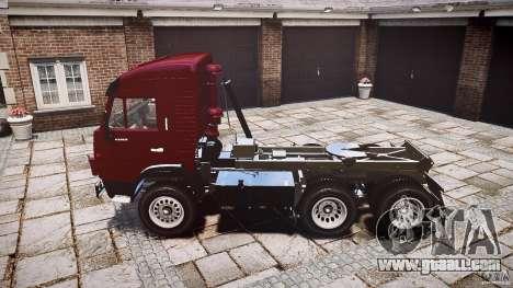 KAMAZ 5410 for GTA 4 back view