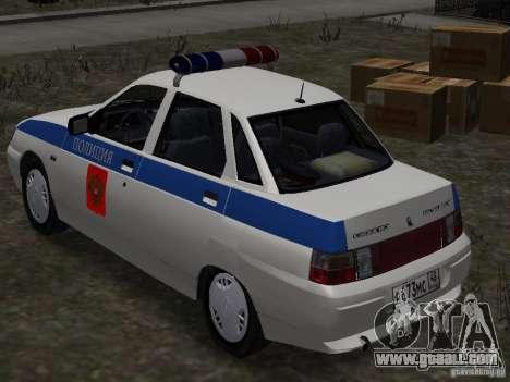 VAZ 2110 DPS for GTA 4 left view