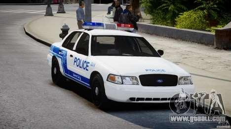 Ford Crown Victoria CVPI-V4.4M [ELS] for GTA 4 right view