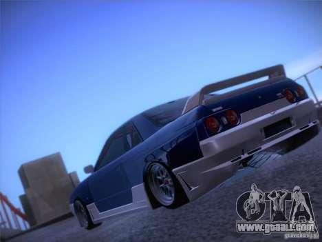 Nissan Skyline R32 Drift Tuning for GTA San Andreas left view