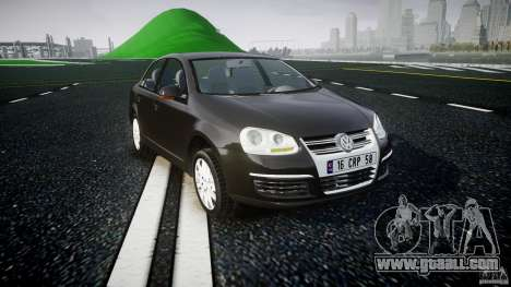 Volkswagen Jetta 2008 for GTA 4 back view