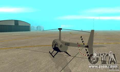 Robinson R44 Raven II NC 1.0 Skin 4 for GTA San Andreas right view