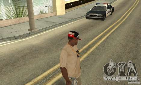 New Era Cap for GTA San Andreas third screenshot