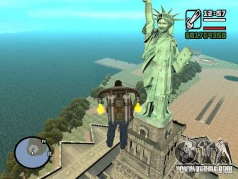 The Statue Of Liberty for GTA San Andreas second screenshot