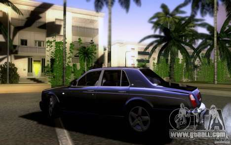 Bentley Arnage for GTA San Andreas left view