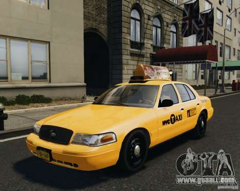 Ford Crown Victoria NYC Taxi 2012 for GTA 4