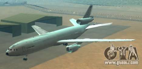 McDonell Douglas KC-10A Extender for GTA San Andreas side view