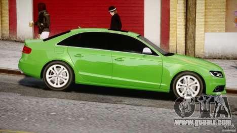 Audi S4 2010 v1.0 for GTA 4 inner view