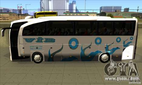 Mercedes-Benz Travego 15 SHD for GTA San Andreas left view