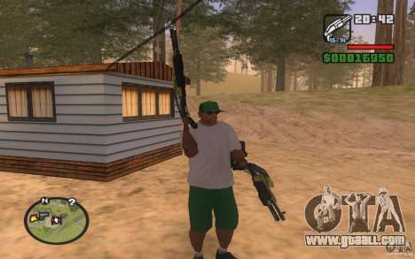 Double weapons for GTA San Andreas third screenshot