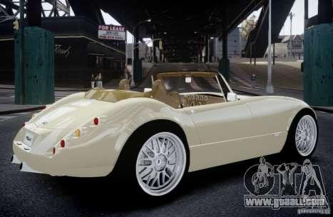 Wiesmann MF3 Roadster Final for GTA 4 left view