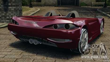 K-1 Attack Roadster v2.0 for GTA 4 back left view