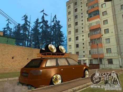 Audi A4 Avant 2005 JDM Style for GTA San Andreas back view
