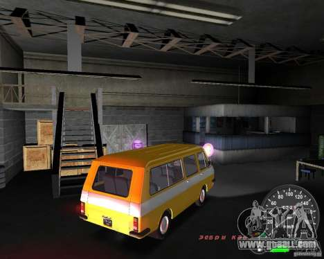 RAF 2203 for GTA Vice City back left view