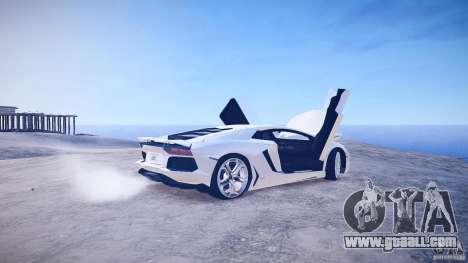 Lamborghini Aventador LP700-4 v1.0 for GTA 4 side view