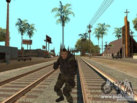 Captain MacTavish for GTA San Andreas sixth screenshot