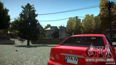 Toyota Aristo for GTA 4 inner view