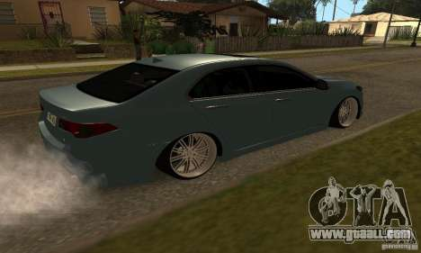 Acura TSX 2010 for GTA San Andreas left view