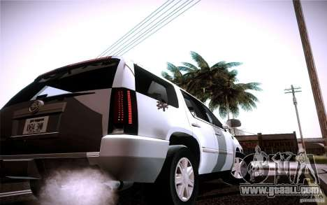 Cadillac Escalade for GTA San Andreas right view