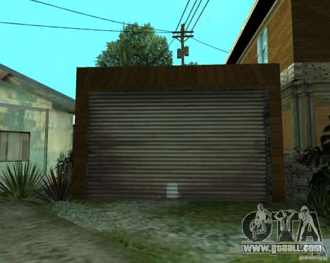 New home CJâ for GTA San Andreas sixth screenshot